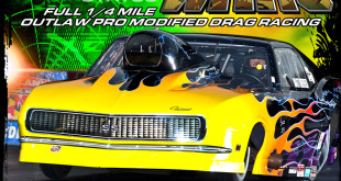 NEOPMA Door Wars Pro Modified Drag Racing Event Flyer