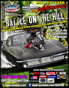 Neopma Battle On The Hill Points Race May 13th 14th Yellow