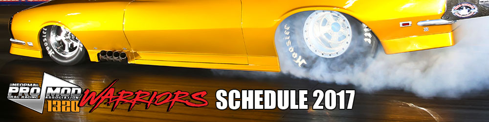 2017 Neopma Pro Modified Drag Racing Schedule