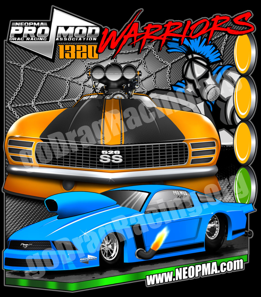 Brand New Official NEOPMA Pro Modified Drag Racing T