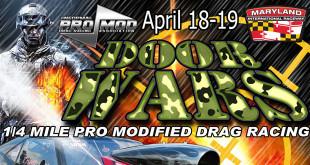Neopma Door Wars Drag Racing Flyer