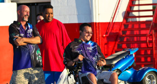 Joshua Boyd quadriplegic Outlaw Pro Modified Drag Racing Fan NEOPMA