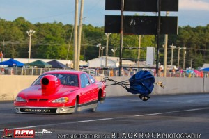 Allan Juhazs Pro Mod Grand Am Powers through the 1/4 mile