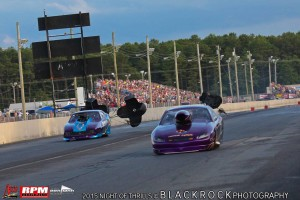 Jim Barker And Steve Assenmacher NEOPMA Pro Mods pull the chutes in front of HUGE Atco Crowd