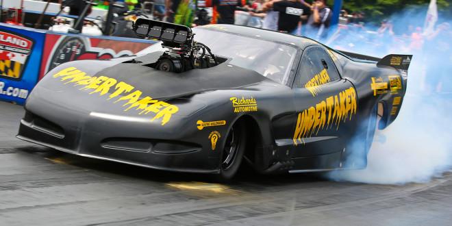 Tommy Gray's Undertaker Corvette Pro Mod PDRA