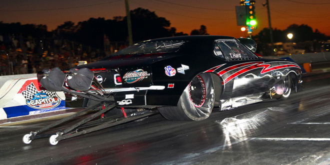Tyler Hard Tim McAmis Camro Pro Mod NEOPMA Points Leader