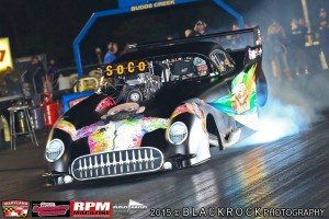 Mac McAdams Corvette Pro Mod rages through his burnout