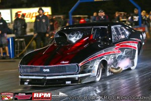 NEOPMA Pro Mod Drag Racing Points Leader Tyler Hard