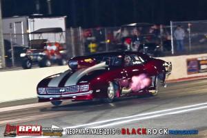 Chuck Mohn's fire breathing Camaro Pro Mod