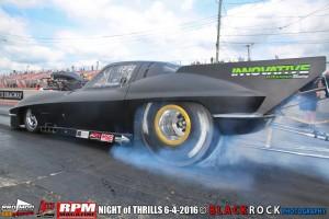 Casey Stemper Vette Pro Mod, Atco Raceway Night Of Thrills With NEOPMA