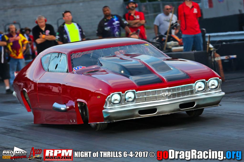 NEOPMA Night Of Thrills Pro Mods Atco Raceway Results