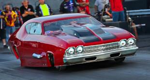 Jim Bersani Twin Turbo 69 Chevelle Pro Mod, Atco Raceway Night Of Thrills With NEOPMA