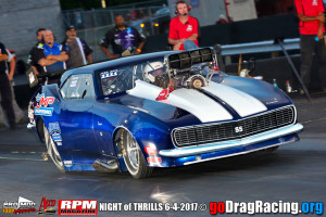 Steve King Jeff Miller Supercharged Camaro Pro Mod Atco Night Of Thrills NEOPMA