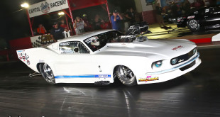 Angela Ray Kinson Wins NEOPMA Pro Mod At Capitol Raceway