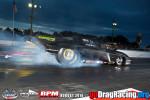 Casey Stemper rips through a burnout in his Pro Mod Corvette