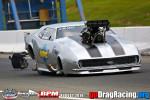 Dave Norris Camaro Pro Mod throwing the chutes