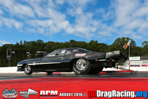 Dwayne Wolfe set LOW ET and Number one qualifier on is way to the runner up position 5.85 244 mph