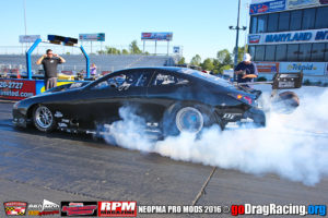 Gary Naughton Pontiac GXP Pro Mod number one qualifier