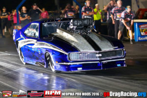 Kevin McCurdy of Hard Racing Pro Mod Champion