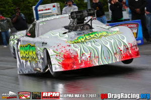 Tommy Gray sets new Pro Modified record 5.72 seconds