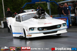 Angela Ray Kinson Supercharged Mustang Pro Mod