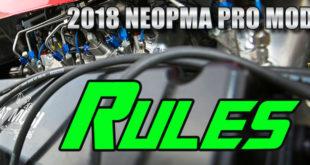 2018 NEOPMA Pro Mod Rules
